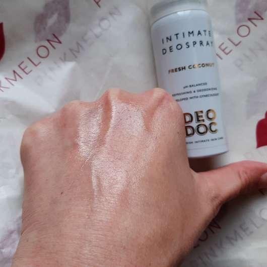 Swatch - DeoDoc Intimate Deodorant Spray Fresh Coconut
