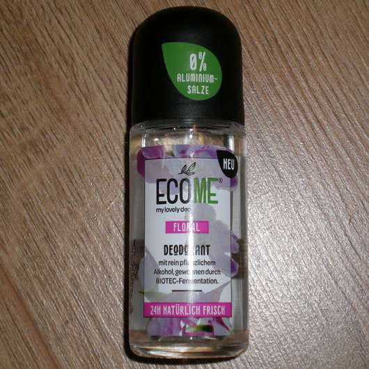 ECOME® my lovely deo Floral Deodorant Roll-On