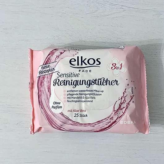 Elkos Face 3in1 Sensitive Reinigungstücher