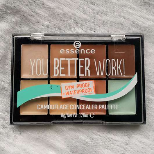 <strong>essence</strong> you better work camouflage concealer palette