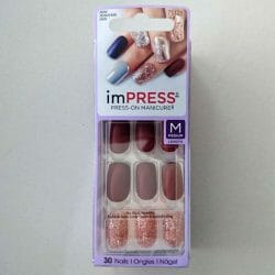 Produktbild zu imPRESS Press-on Gel Manicure – Design: Forbidden