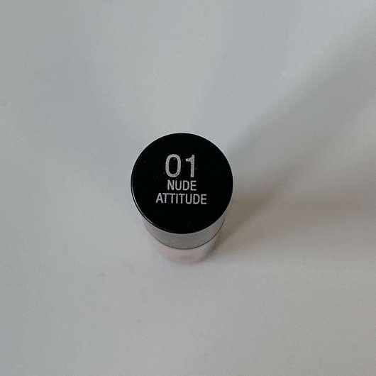 IsaDora Ultra Matt Liquid Lipstick, Farbe: 01 Nude Attitude - Farbbezeichnung