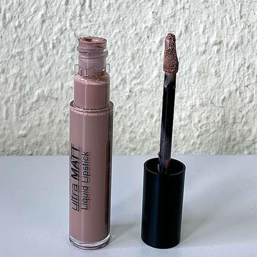 IsaDora Ultra Matt Liquid Lipstick, Farbe: 01 Nude Attitude - Applikator