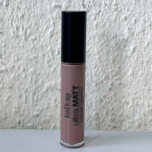 <strong>IsaDora</strong> Ultra Matt Liquid Lipstick - Farbe: 01 Nude Attitude