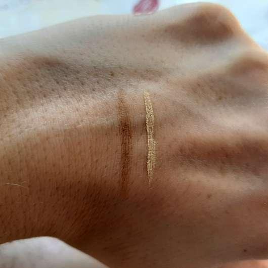 Make up Factory Eye Contour Brush (LE) - Make-up Swatches mit Pinsel gezogen