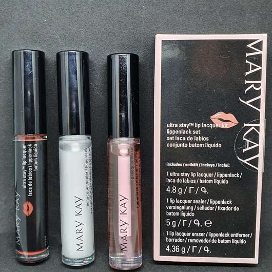 Mary Kay Ultra Stay Lip Lacquer Kit, Farbe: Rose (LE)