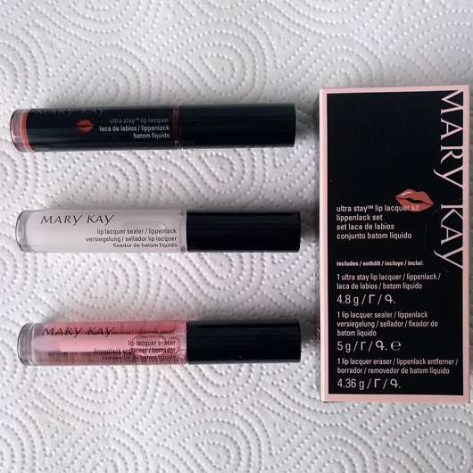 <strong>Mary Kay</strong> Ultra Stay Lip Lacquer Kit - Farbe: Rose (LE)