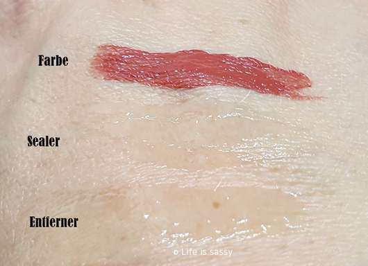 Mary Kay Ultra Stay Lip Lacquer Kit, Farbe: Rose (LE) - Swatches