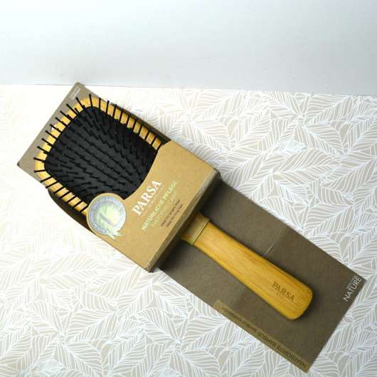 <strong>PARSA BEAUTY</strong> Paddle-Haarbürste Bambus