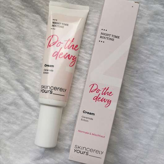 Skincerely Yours Do the dewy Cream
