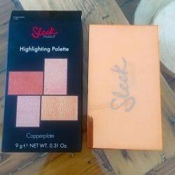 Produktbild zu Sleek MakeUP Highlighting Palette – Farbe: Copperplate