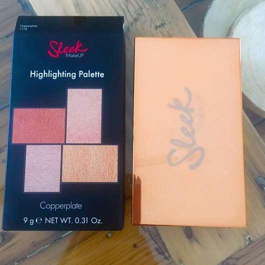 Sleek MakeUP Highlighting Palette, Farbe: Copperplate