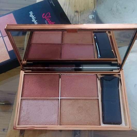 Sleek MakeUP Highlighting Palette, Farbe: Copperplate - geöffnet