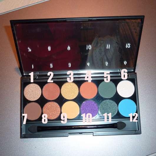 Sleek MakeUP i-Divine Mineral Based Eyeshadow Palette, Farbe: Colour Carnage