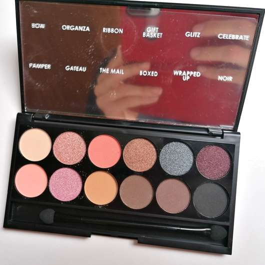 Sleek MakeUP i-Divine Mineral Based Eyeshadow Palette, Farbe: Oh So Special