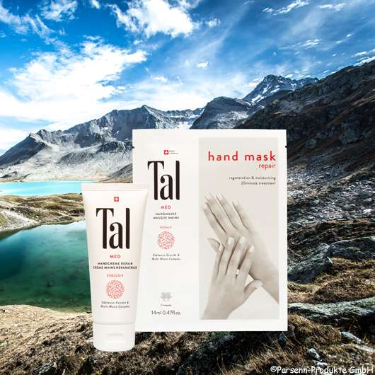 Tal MED Intensivpflege aus den Schweizer Alpen: Der Geheimtipp bei rissigen Händen