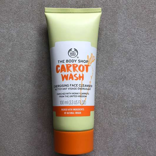 The Body Shop Carrot Wash