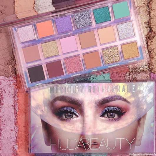 Huda Beauty: Mercury Retrograde Palette