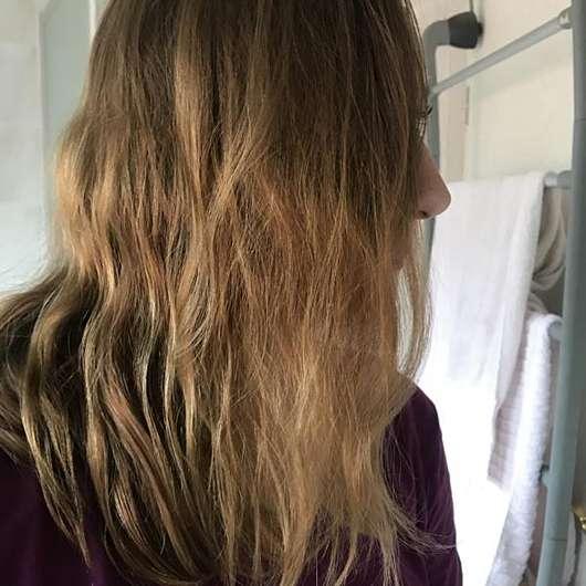 Alterra Prachtvoll Shampoo Power & Stärke - Haare vorher