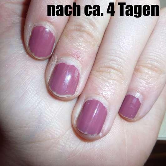 essence shine last & go! gel nail polish, Farbe: 10 love me like you do - Farbeindruck auf den Nägeln nach 4 Tagen