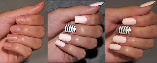 imPRESS Press-on Gel Manicure, Design: Call It Off - aufgeklebt