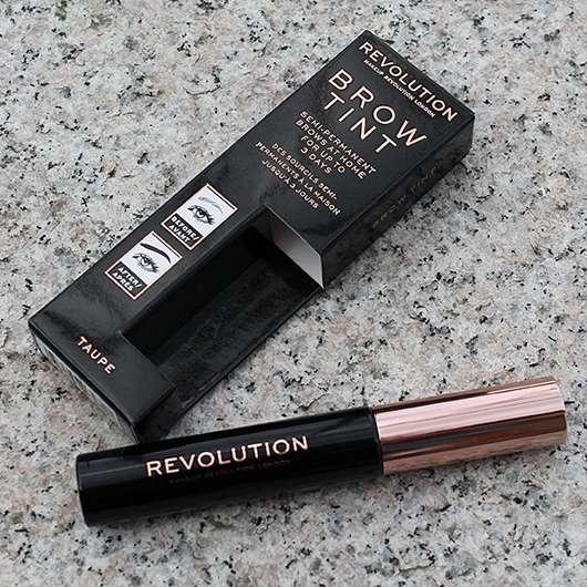 Makeup Revolution Brow Tint, Farbe: Taupe