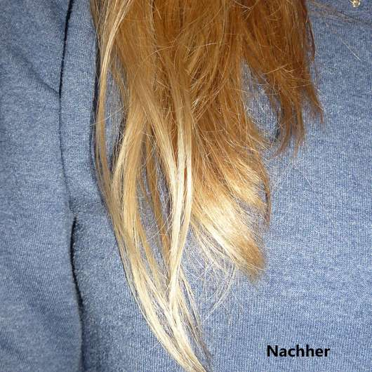 Yves Rocher Pflanzenpflege Haare Reparierendes Shampoo - Haare nachher