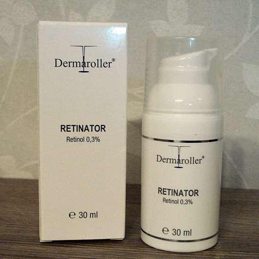 DERMAROLLER Set für Alterserscheinungen - Dermaroller Retinator mit 3,0% Retinol