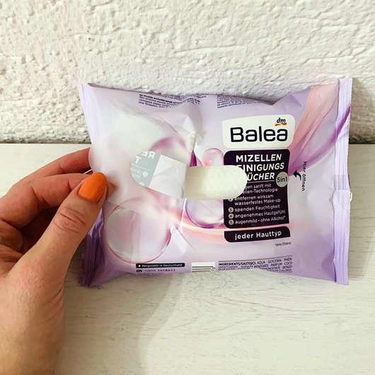 Balea Mizellen-Reinigungstücher