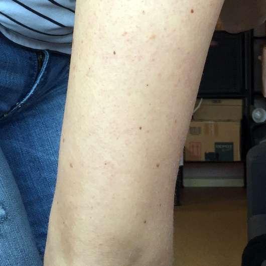 Bi-Oil Gel für trockene Haut - Haut nach der Testphase von ca. 4 Wochen