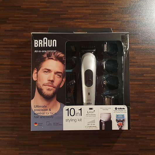 BRAUN MGK7020 10-in-1 styling kit All-in-one trimmer
