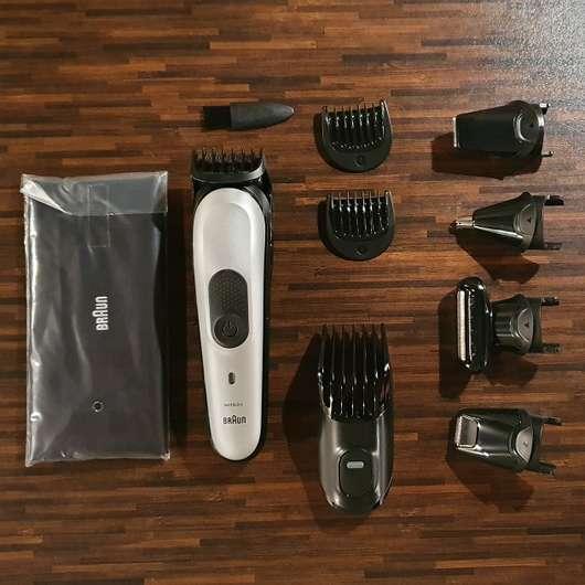 BRAUN MGK7020 10-in-1 styling kit All-in-one trimmer - gesamter Inhalt