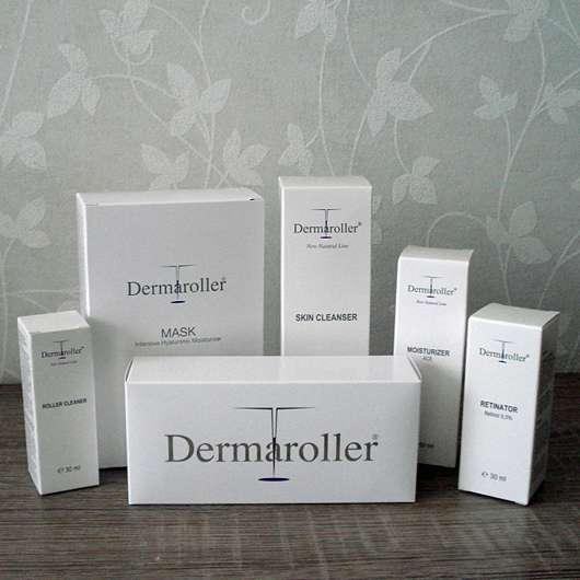 Dermaroller Skin Cleanser Komplettset
