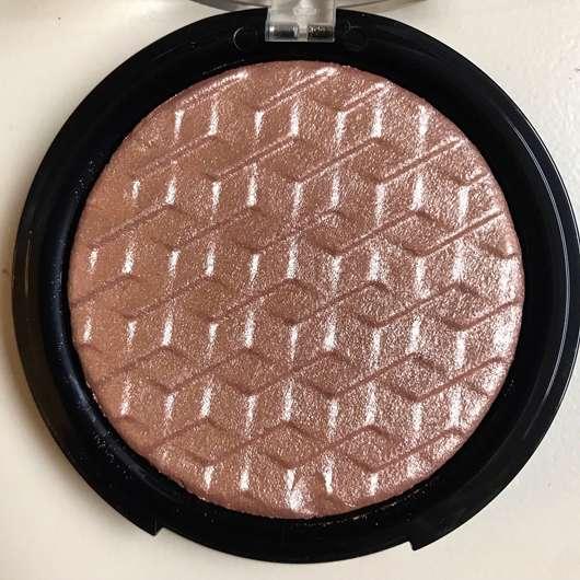 e.l.f. Cosmetics Metallic Flare Highlighter, Farbe: Rose Gold - geöffnet Nahaufnahme
