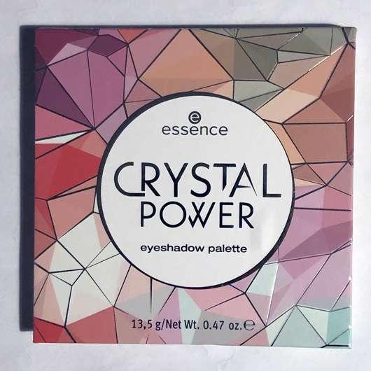 essence crystal power eyeshadow palette