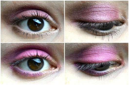 essence epic sunset eyeshadow palette - zwei Augen-make-ups