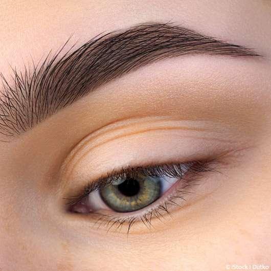 Augenlider peelen