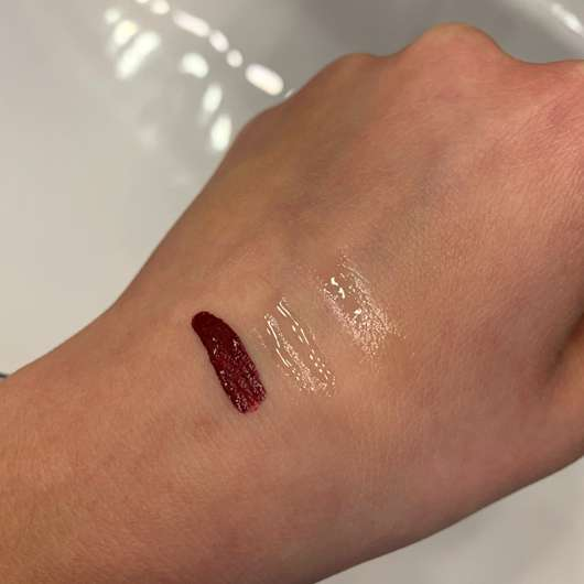 Mary Kay Ultra Stay Lip Lacquer Kit, Farbe: Plum (LE) - Swatch