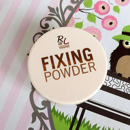 <strong>Rival de Loop Young</strong> Fixing Powder - Farbe: 01 Transparent