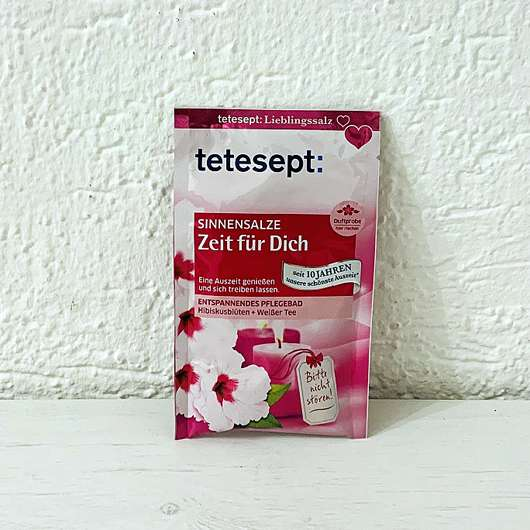 """<strong>tetesept</strong> Sinnensalze """"Zeit für Dich"""""""