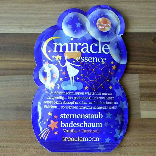 <strong>treaclemoon</strong> miracle essence sternenstaub badeschaum