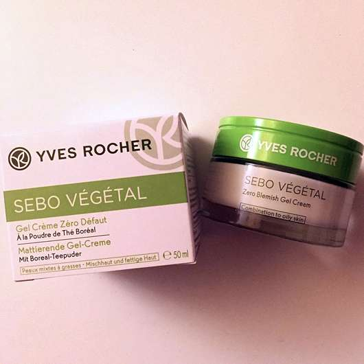 Yves Rocher Sebo Végétal Mattierende Gel-Creme