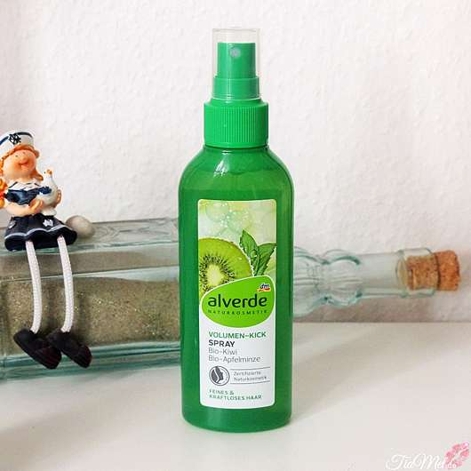 <strong>alverde Naturkosmetik</strong> Volumen-Kick Spray Bio-Kiwi Bio-Apfelminze