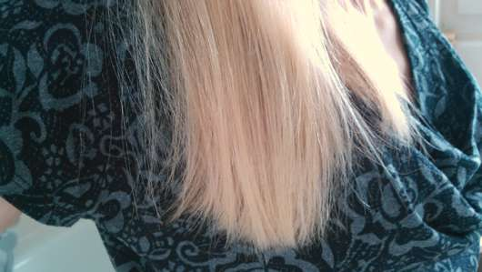 CD Naturkraft Glanz Shampoo - Haare nachher