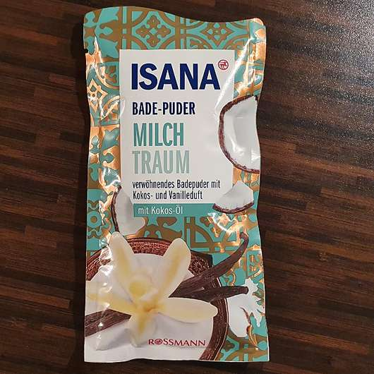 ISANA Bade-Puder Milch Traum