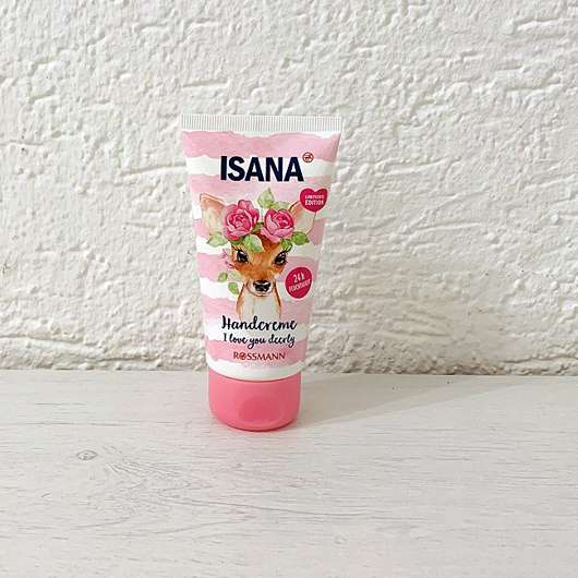 <strong>ISANA</strong> Handcreme I love you dearly (LE)