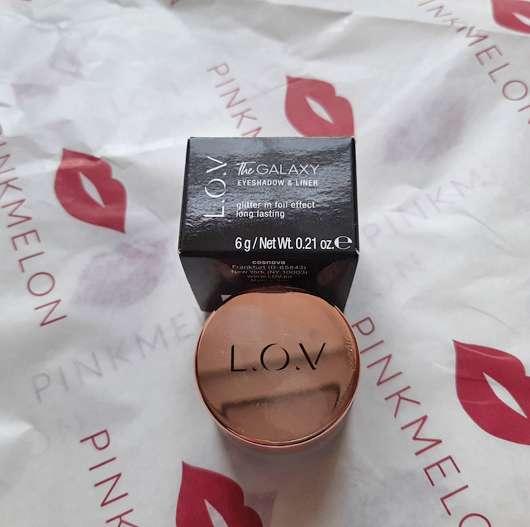 <strong>L.O.V</strong> The GALAXY Eyeshadow & Liner - Farbe: 530 Magenta Shimmer
