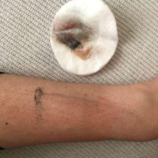Nach einer Anwendung des La Roche-Posay Mizellen Reinigungsfluid Ultra