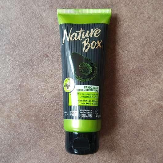 <strong>Nature Box</strong> Handcreme Avocado-Öl