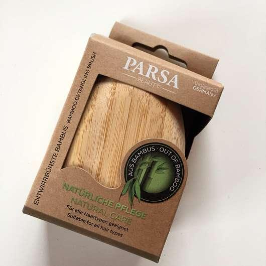 PARSA Beauty Entwirrbürste Bambus